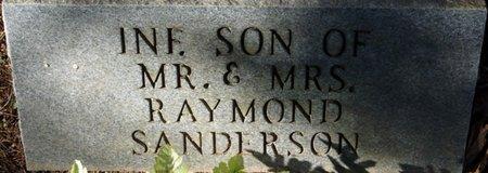 SANDERSON, INFANT SON - Colbert County, Alabama | INFANT SON SANDERSON - Alabama Gravestone Photos