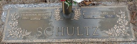 SCHULTZ, CLAYTON RUSSELL - Colbert County, Alabama | CLAYTON RUSSELL SCHULTZ - Alabama Gravestone Photos