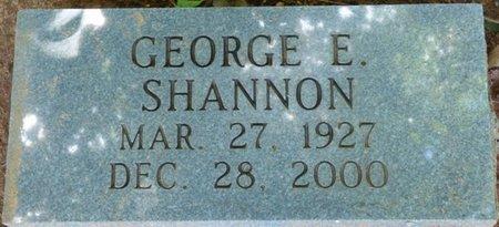 SHANNON, GEORGE E - Colbert County, Alabama | GEORGE E SHANNON - Alabama Gravestone Photos