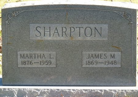 SHARPTON, JAMES M - Colbert County, Alabama | JAMES M SHARPTON - Alabama Gravestone Photos