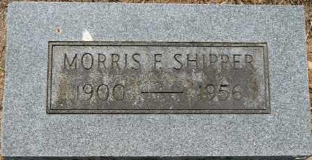 SHIPPER, MORRIS F - Colbert County, Alabama | MORRIS F SHIPPER - Alabama Gravestone Photos