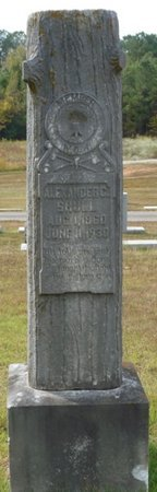 SHULL, ALEXANDER C - Colbert County, Alabama | ALEXANDER C SHULL - Alabama Gravestone Photos