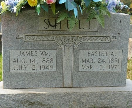SHULL, EASTER A - Colbert County, Alabama | EASTER A SHULL - Alabama Gravestone Photos