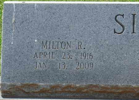 SIEGEL, MILTON R - Colbert County, Alabama | MILTON R SIEGEL - Alabama Gravestone Photos