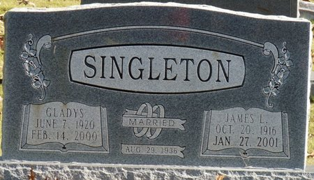 SINGLETON, JAMES L - Colbert County, Alabama | JAMES L SINGLETON - Alabama Gravestone Photos