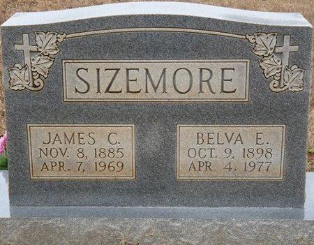 SIZEMORE, BELVA E - Colbert County, Alabama   BELVA E SIZEMORE - Alabama Gravestone Photos