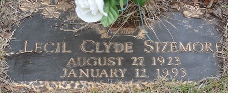 SIZEMORE, LECIL CLYDE - Colbert County, Alabama   LECIL CLYDE SIZEMORE - Alabama Gravestone Photos