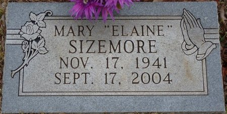 "SIZEMORE, MARY ""ELAINE"" - Colbert County, Alabama 