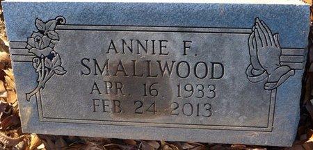 SMALLWOOD, ANNIE FAYE - Colbert County, Alabama | ANNIE FAYE SMALLWOOD - Alabama Gravestone Photos