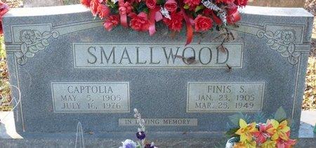SMALLWOOD, CAPTOLIA - Colbert County, Alabama   CAPTOLIA SMALLWOOD - Alabama Gravestone Photos