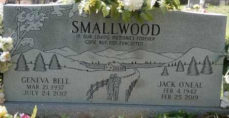 SMALLWOOD, JACK O'NEAL - Colbert County, Alabama | JACK O'NEAL SMALLWOOD - Alabama Gravestone Photos