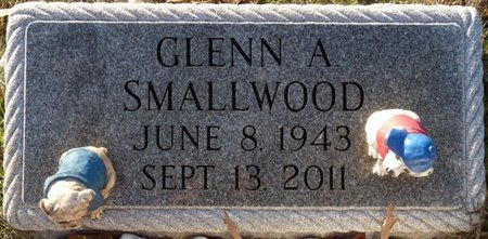 SMALLWOOD, GLENN A - Colbert County, Alabama   GLENN A SMALLWOOD - Alabama Gravestone Photos