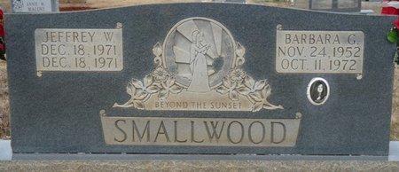 SMALLWOOD, BARBARA GAIL - Colbert County, Alabama   BARBARA GAIL SMALLWOOD - Alabama Gravestone Photos