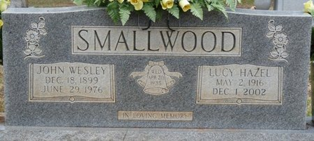 SMALLWOOD, LUCY HAZEL - Colbert County, Alabama | LUCY HAZEL SMALLWOOD - Alabama Gravestone Photos