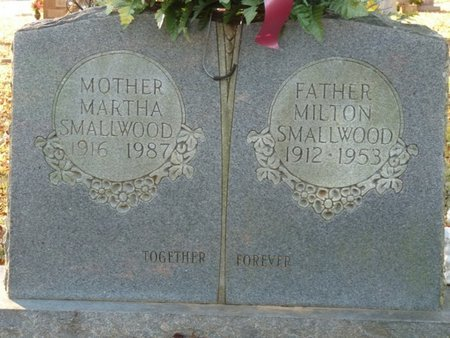 SMALLWOOD, MILTON - Colbert County, Alabama   MILTON SMALLWOOD - Alabama Gravestone Photos
