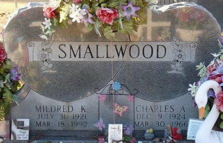 SMALLWOOD, MILDRED K - Colbert County, Alabama   MILDRED K SMALLWOOD - Alabama Gravestone Photos