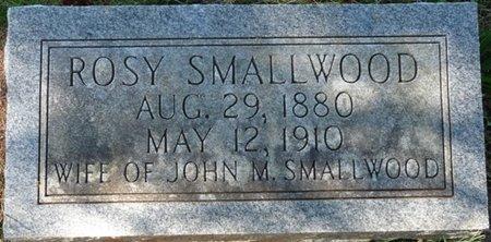 SMALLWOOD, ROSY - Colbert County, Alabama | ROSY SMALLWOOD - Alabama Gravestone Photos