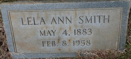 SMITH, LELA ANN - Colbert County, Alabama | LELA ANN SMITH - Alabama Gravestone Photos