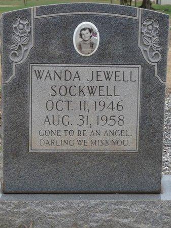 SOCKWELL, WANDA JEWELL - Colbert County, Alabama | WANDA JEWELL SOCKWELL - Alabama Gravestone Photos