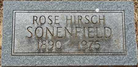 SONENFIELD, ROSE - Colbert County, Alabama | ROSE SONENFIELD - Alabama Gravestone Photos