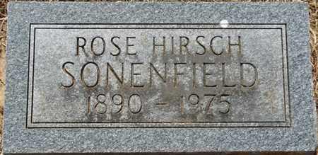 HIRSCH SONENFIELD, ROSE - Colbert County, Alabama | ROSE HIRSCH SONENFIELD - Alabama Gravestone Photos