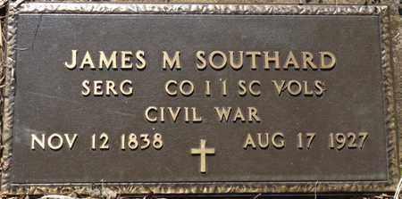 SOUTHARD (VETERAN CSA), JAMES M - Colbert County, Alabama | JAMES M SOUTHARD (VETERAN CSA) - Alabama Gravestone Photos
