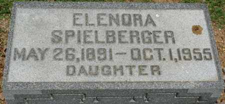 SPIELBERGER, ELENORA - Colbert County, Alabama | ELENORA SPIELBERGER - Alabama Gravestone Photos
