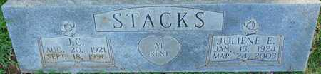 STACKS, JOHN C. - Colbert County, Alabama   JOHN C. STACKS - Alabama Gravestone Photos