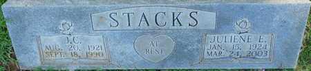 STACKS, JULIENE E - Colbert County, Alabama | JULIENE E STACKS - Alabama Gravestone Photos