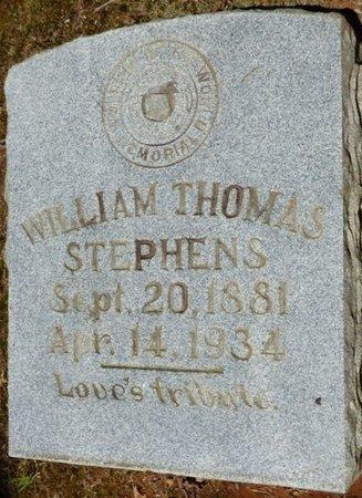 STEPHENS, WILLIAM THOMAS - Colbert County, Alabama | WILLIAM THOMAS STEPHENS - Alabama Gravestone Photos