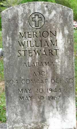 STEWART (VETERAN), MERION WILLIAM - Colbert County, Alabama   MERION WILLIAM STEWART (VETERAN) - Alabama Gravestone Photos