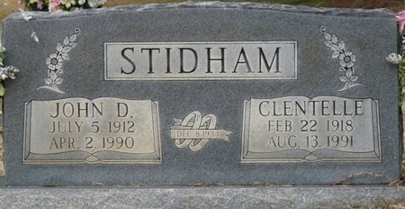 STIDHAM, JOHN D - Colbert County, Alabama | JOHN D STIDHAM - Alabama Gravestone Photos