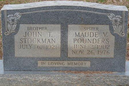 STOCKMAN, JOHN TROY - Colbert County, Alabama | JOHN TROY STOCKMAN - Alabama Gravestone Photos