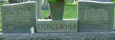 STONECIPHER, RUBY S - Colbert County, Alabama | RUBY S STONECIPHER - Alabama Gravestone Photos
