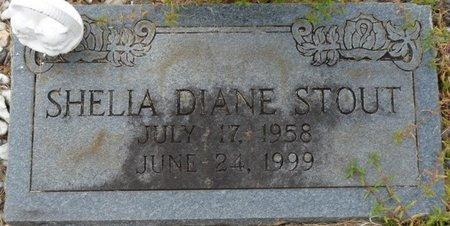 STOUT, SHELIA DIANE - Colbert County, Alabama | SHELIA DIANE STOUT - Alabama Gravestone Photos
