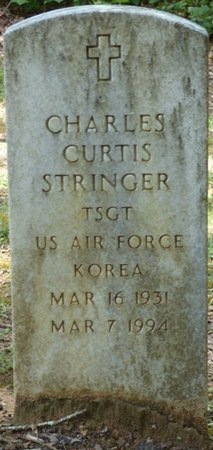 STRINGER (VETERAN KOR), CHARLES CURTIS - Colbert County, Alabama | CHARLES CURTIS STRINGER (VETERAN KOR) - Alabama Gravestone Photos