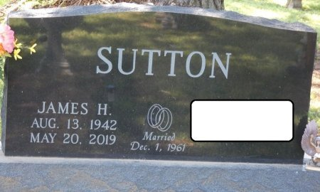 "SUTTON, JAMES H ""JIM"" - Colbert County, Alabama | JAMES H ""JIM"" SUTTON - Alabama Gravestone Photos"
