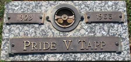 TAPP, PRIDE V - Colbert County, Alabama | PRIDE V TAPP - Alabama Gravestone Photos