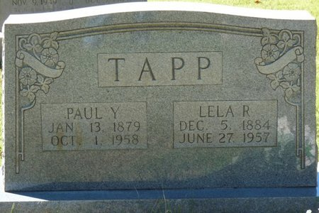 TAPP, LELA R - Colbert County, Alabama | LELA R TAPP - Alabama Gravestone Photos