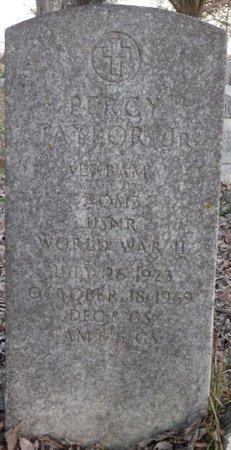 TAYLOR JR. (VETERAN WWII), PERCY - Colbert County, Alabama | PERCY TAYLOR JR. (VETERAN WWII) - Alabama Gravestone Photos