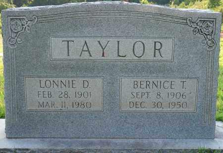 TAYLOR, LONNIE D - Colbert County, Alabama | LONNIE D TAYLOR - Alabama Gravestone Photos