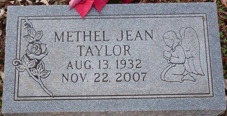 TAYLOR, METHEL JEAN - Colbert County, Alabama | METHEL JEAN TAYLOR - Alabama Gravestone Photos