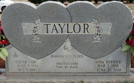 PATRICK TAYLOR, NINA BERNICE - Colbert County, Alabama | NINA BERNICE PATRICK TAYLOR - Alabama Gravestone Photos