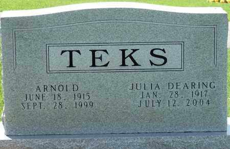 DEARING TEKS, JULIA - Colbert County, Alabama | JULIA DEARING TEKS - Alabama Gravestone Photos