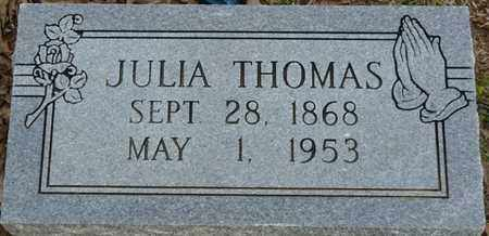 THOMAS, JULIA - Colbert County, Alabama | JULIA THOMAS - Alabama Gravestone Photos