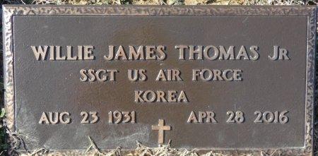 THOMAS, JR (VETERAN KOR), WILLIE JAMES (NEW) - Colbert County, Alabama   WILLIE JAMES (NEW) THOMAS, JR (VETERAN KOR) - Alabama Gravestone Photos