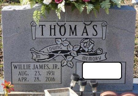 THOMAS, JR, WILLIE JAMES - Colbert County, Alabama | WILLIE JAMES THOMAS, JR - Alabama Gravestone Photos