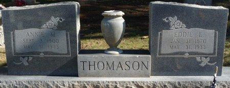"THOMASON, EDWARD L ""EDDIE"" - Colbert County, Alabama | EDWARD L ""EDDIE"" THOMASON - Alabama Gravestone Photos"