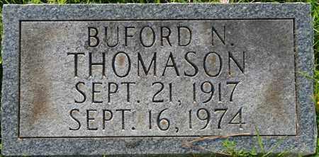 THOMASON, BUFORD N - Colbert County, Alabama | BUFORD N THOMASON - Alabama Gravestone Photos