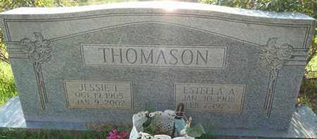 THOMASON, JESSIE T - Colbert County, Alabama | JESSIE T THOMASON - Alabama Gravestone Photos